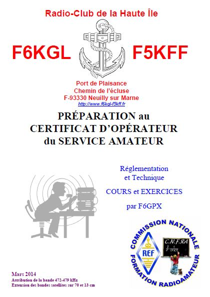 Cours F6GPX