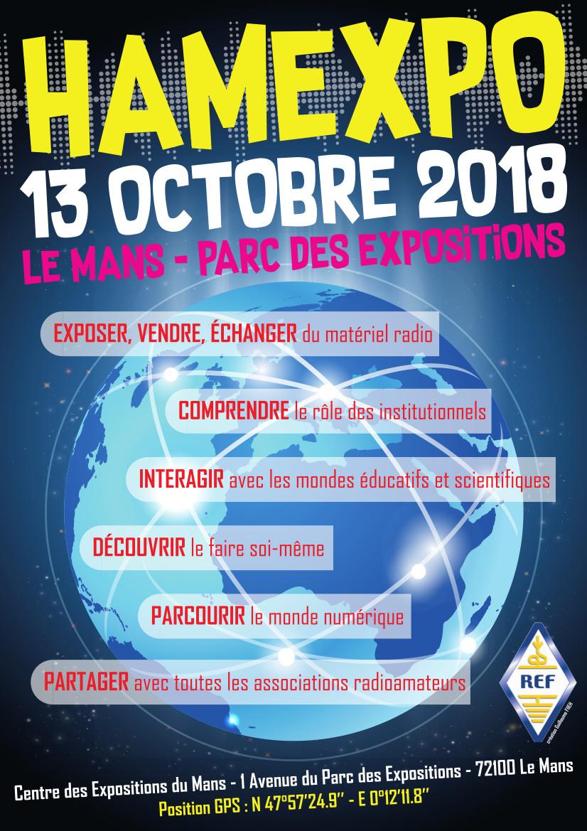 affiche HAMEXPO 2018