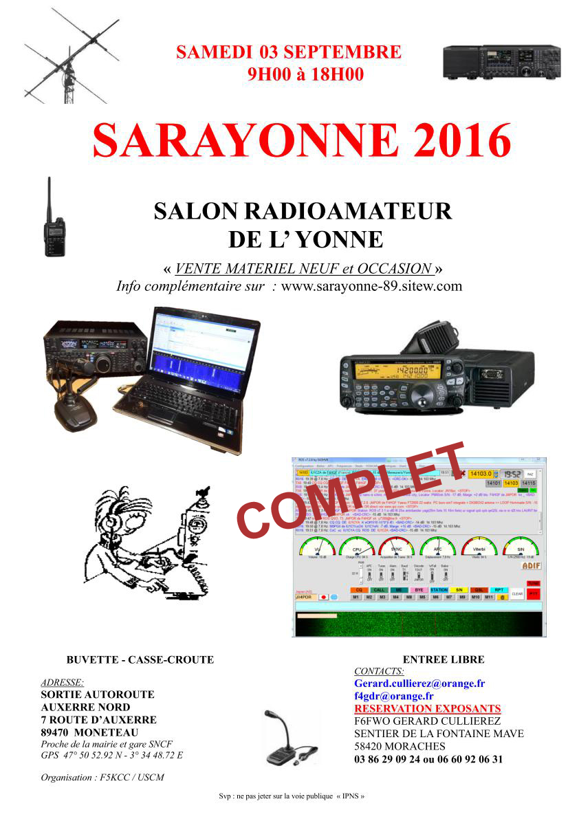 AFFICHE SARAYONNE 2016 complet